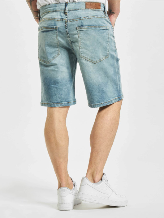 Urban Classics shorts Relaxed Fit Jean blauw