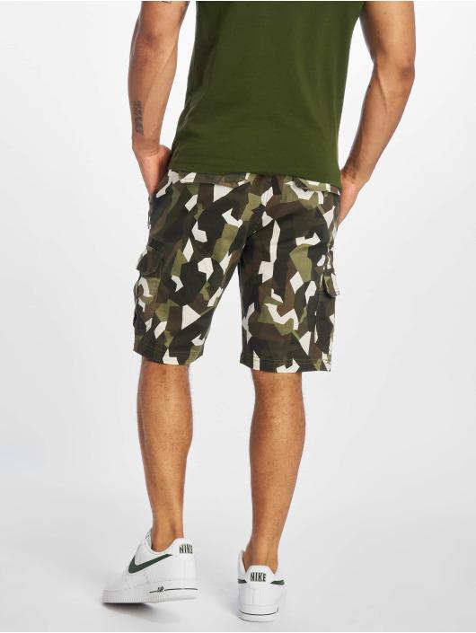 Urban Classics Shorts Geometric Stretch Twill camouflage