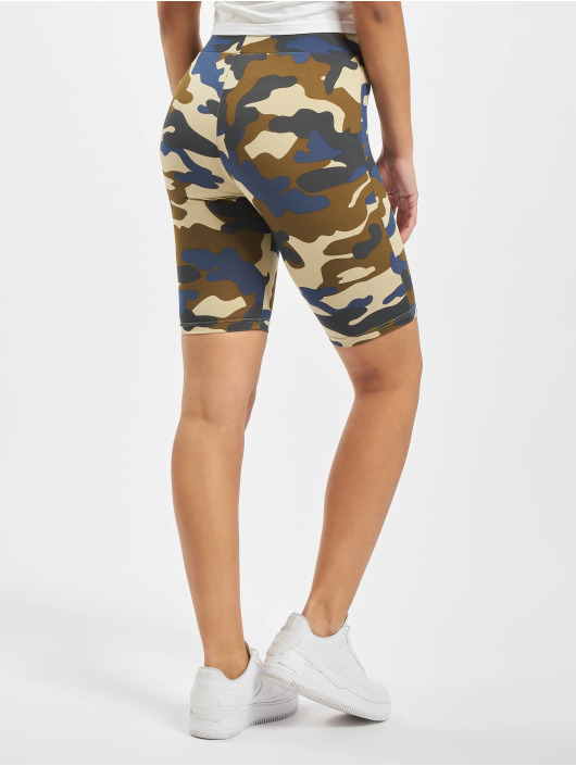 Urban Classics Shorts Ladies High Waist Camo Tech Cycle camouflage