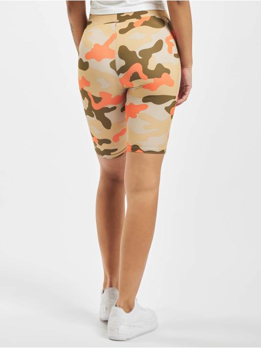 Urban Classics Shorts Ladies High Waist Camo Tech Cycle camouflage