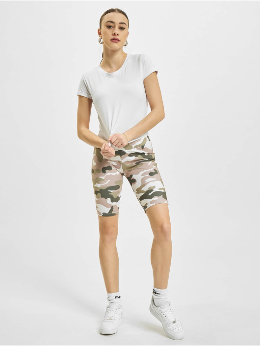 Urban Classics Shorts High Waist Camo Tech Cycle camouflage