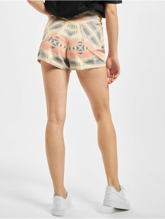 Urban Classics Shorts Ladies Inka Highwaist goldfarben