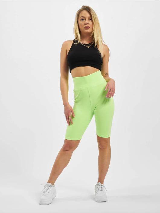Urban Classics Shorts High Waist Cycle grøn