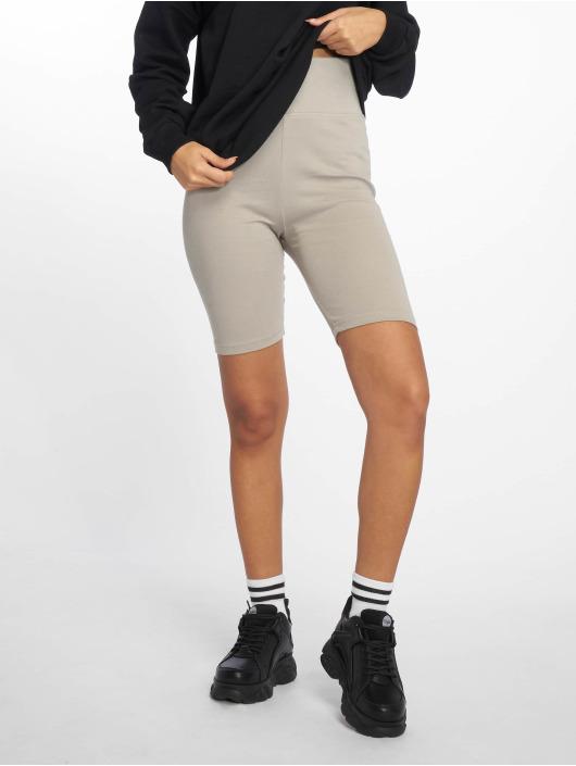 Urban Classics Shorts High Waist Cycle grau