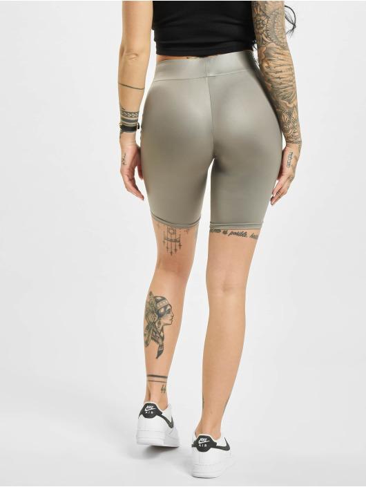 Urban Classics Shorts Imitation Leather Cycle grigio