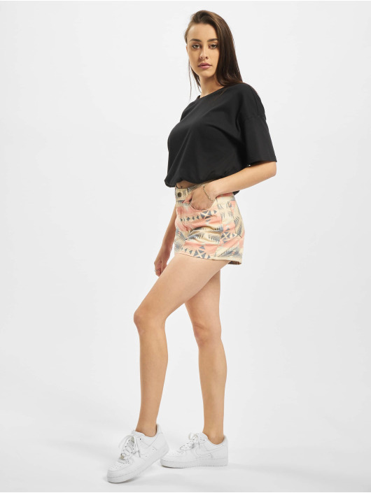 Urban Classics Shorts Ladies Inka Highwaist guld