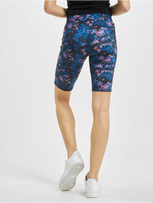 Urban Classics Shorts High Waist Camo Tech Cycle lila