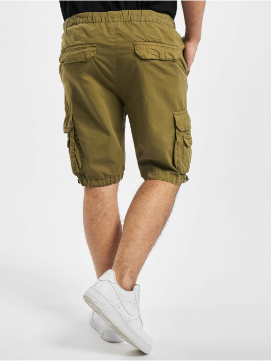 Urban Classics Shorts Double Pocket olive