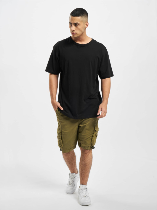 Urban Classics Shorts Double Pocket oliven