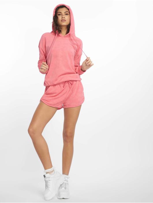 Urban Classics Shorts Towel pink