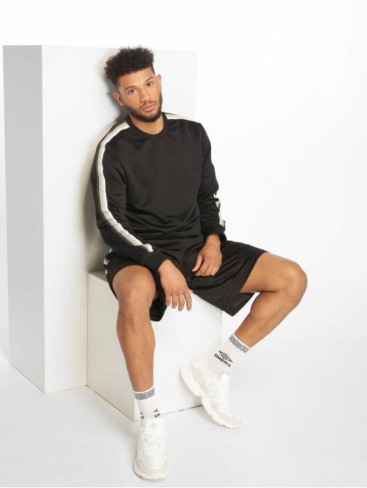 Urban Classics Shorts Side Taped Mesh schwarz