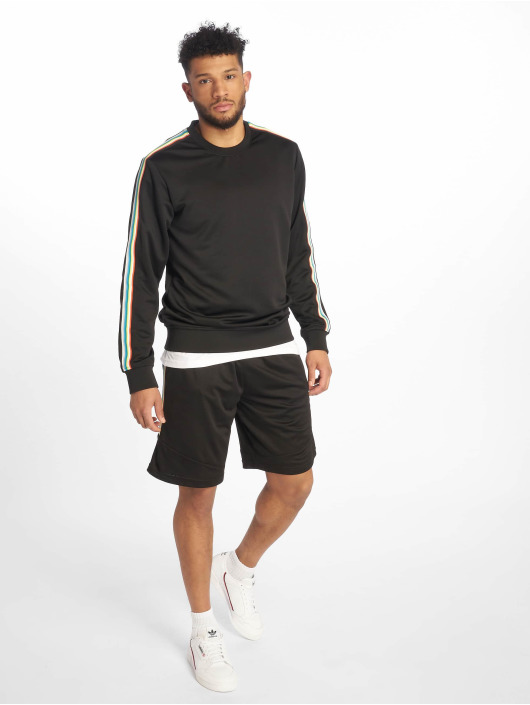 Urban Classics Shorts Side Taped Mesh schwarz