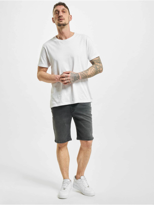 Urban Classics Shorts Relaxed Fit Jean schwarz