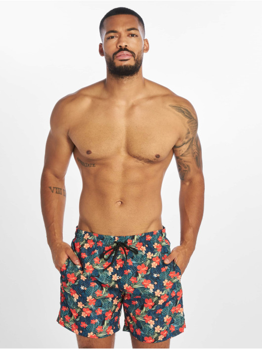Urban Classics Shorts Pattern Swim svart