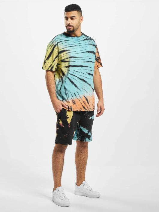 Urban Classics Shorts Tie Dye svart