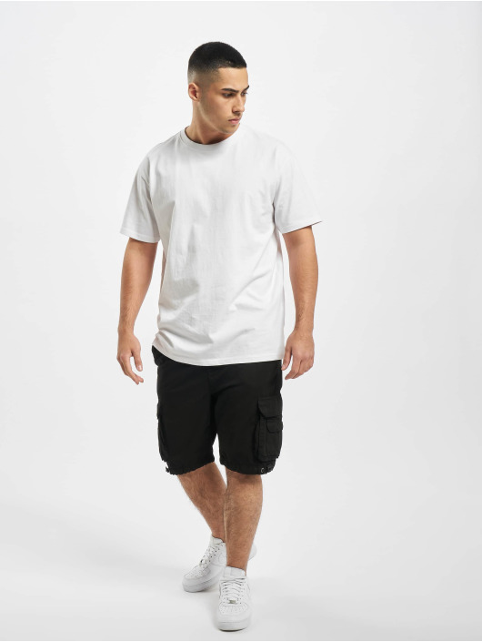 Urban Classics Shorts Double Pocket svart