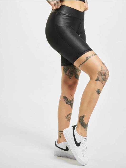 Urban Classics Shorts Imitation Leather Cycle svart