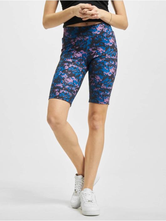 Urban Classics Shorts High Waist Camo Tech Cycle violet