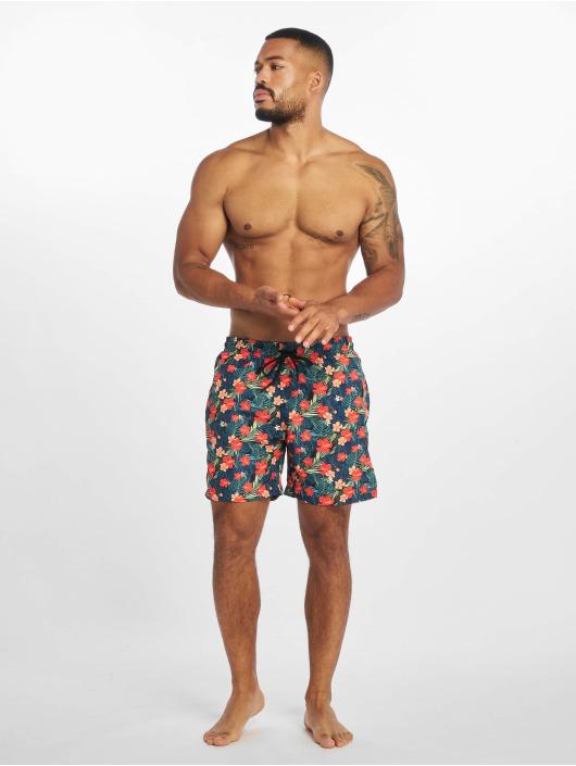 Urban Classics shorts Pattern Swim zwart