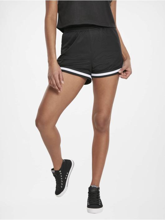 Urban Classics shorts Stripes zwart