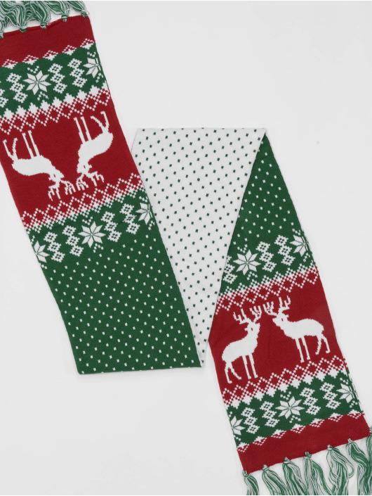 Urban Classics sjaal Christmas groen