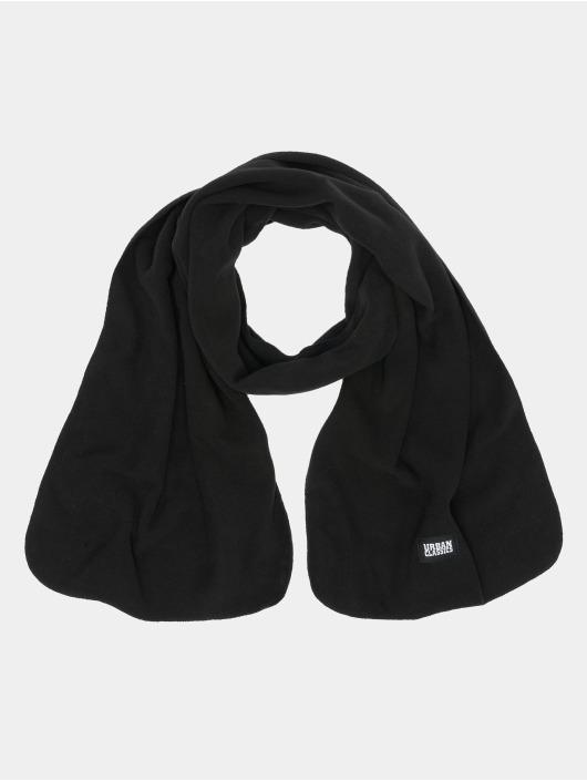 Urban Classics sjaal Fleece zwart