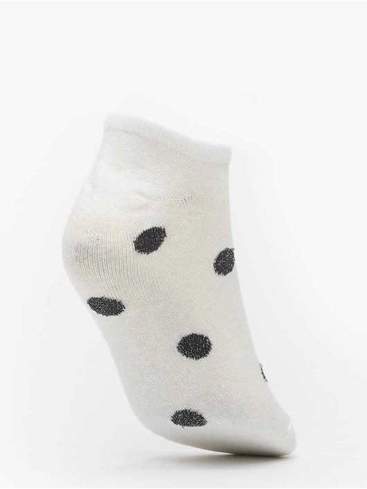 Urban Classics Skarpetki No Show Socks Dots 5-Pack bialy