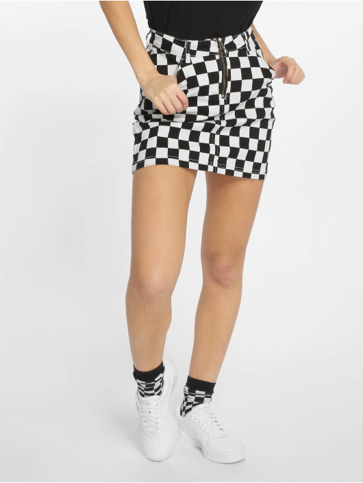 Urban Classics Skirt Check Twill black