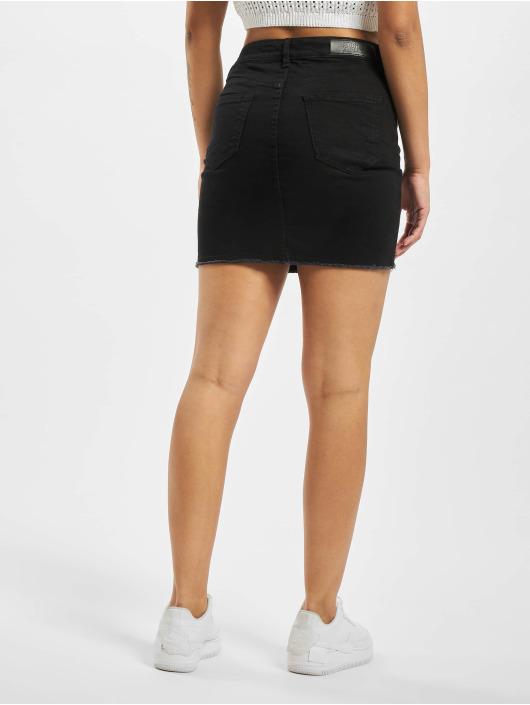 Urban Classics Skirt Ladies Denim black