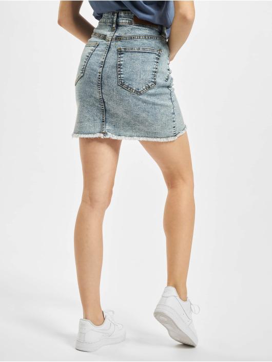Urban Classics Skirt Ladies Denim blue