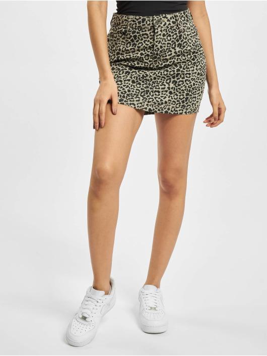 Urban Classics Skirt Ladies AOP Twill gray