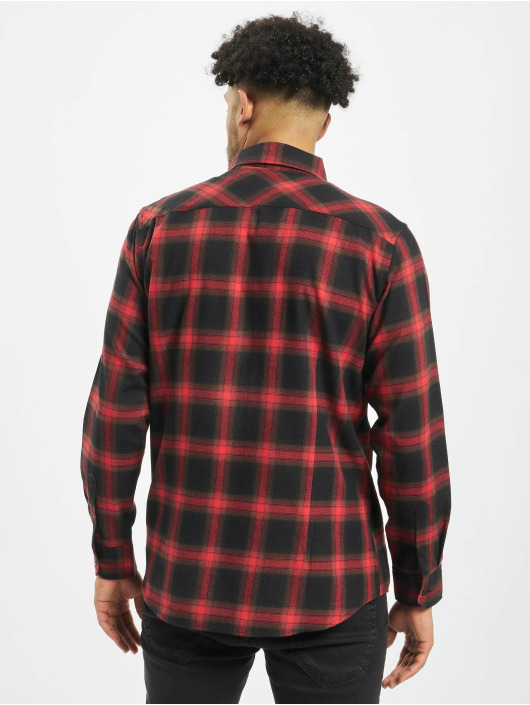 Urban Classics Skjorta Checked 6 svart
