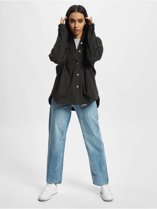 Urban Classics Skjorte Ladies Classic grå