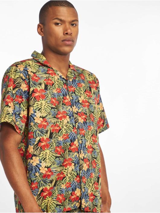 Urban Classics Skjorte Pattern Resort mangefarvet