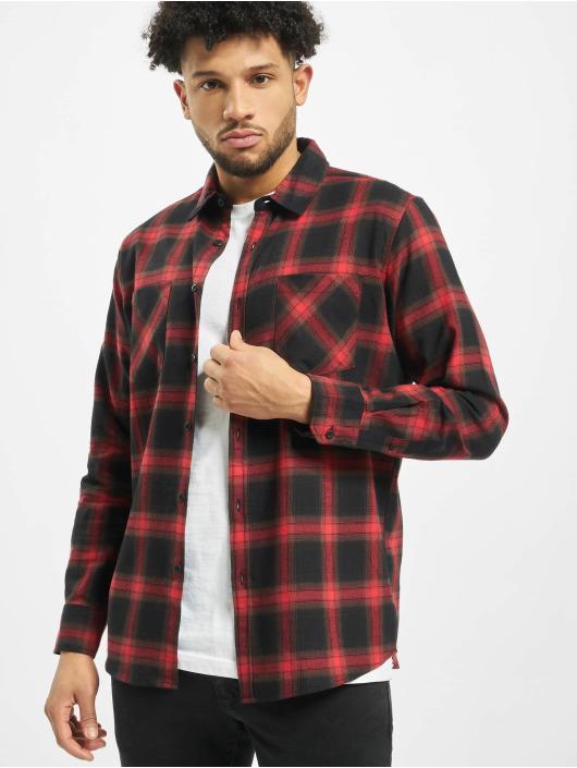 Urban Classics Skjorte Checked 6 sort
