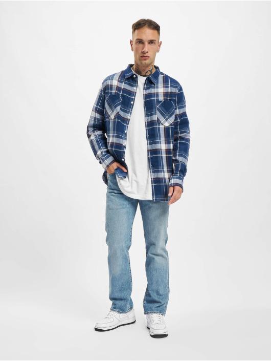 Urban Classics Skjorter Check blå