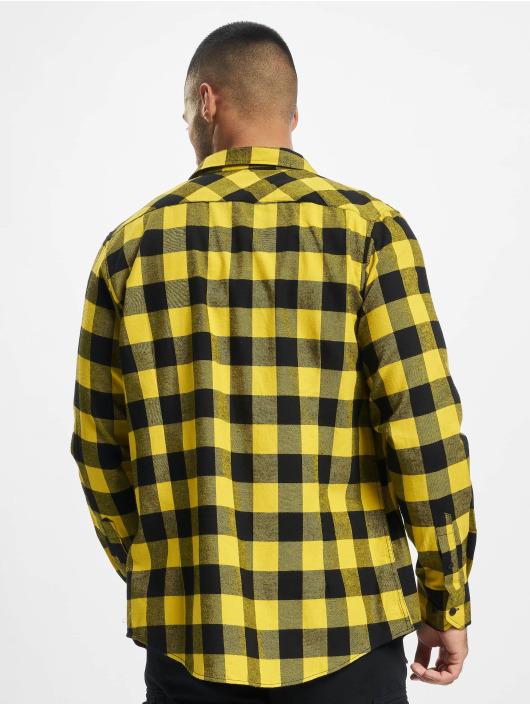 Urban Classics Skjorter Checked Flanell svart