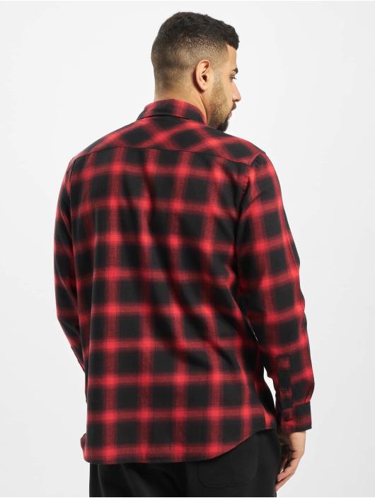 Urban Classics Skjorter Oversized Checked svart