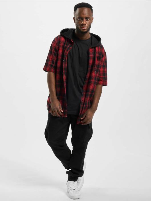 Urban Classics Skjorter Hooded svart