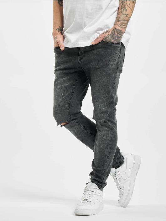 Urban Classics Slim Fit -farkut Slim Fit musta