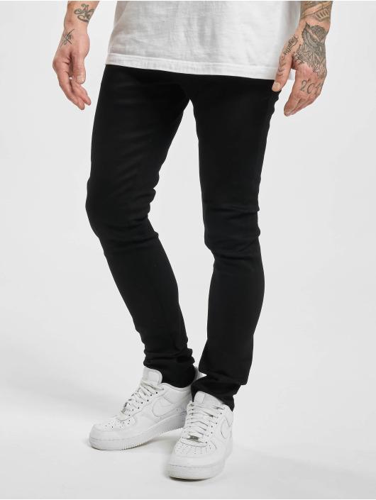 Urban Classics Slim Fit Jeans Slim Fit èierna