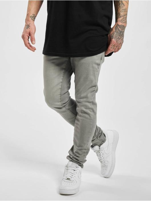Urban Classics Slim Fit Jeans Slim Fit šedá