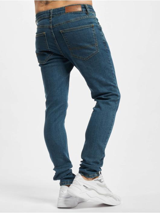 Urban Classics Slim Fit Jeans Slim Fit blau