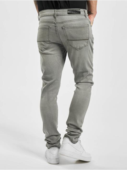 Urban Classics Slim Fit Jeans Slim Fit grau