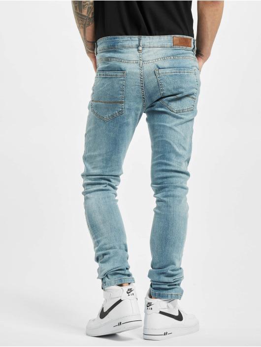 Urban Classics Slim Fit Jeans Slim Fit Zip grau