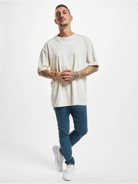 Urban Classics Slim Fit Jeans Slim Fit modrý