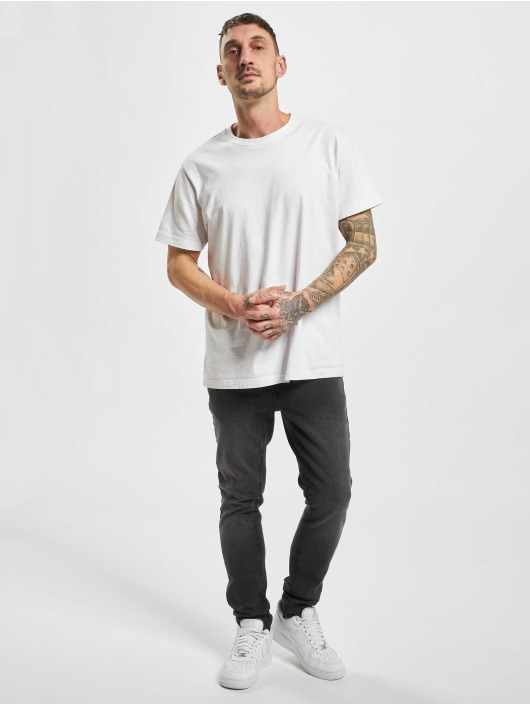 Urban Classics Slim Fit Jeans Slim Fit schwarz