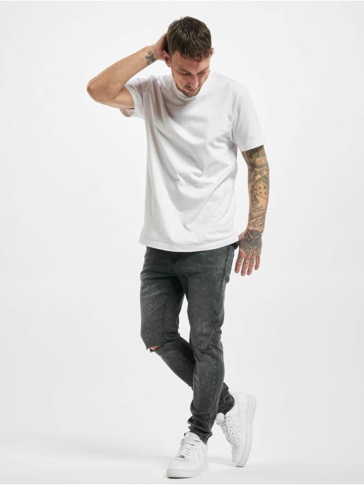 Urban Classics Slim Fit Jeans Slim Fit zwart