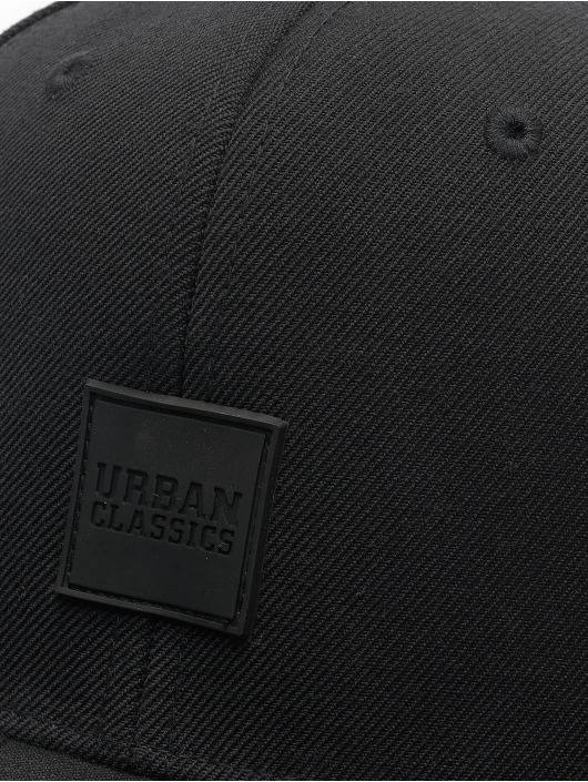 Urban Classics Snapback Cap Patch schwarz