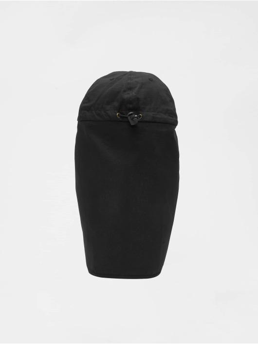 Urban Classics snapback cap With Sun Protection zwart